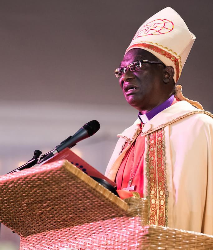 The Rt. Rev. Dr. Frederick Shoo